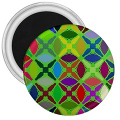 Abstract Pattern Background Design 3  Magnets by Nexatart