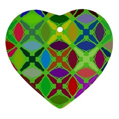 Abstract Pattern Background Design Ornament (heart)