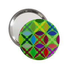Abstract Pattern Background Design 2 25  Handbag Mirrors
