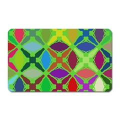 Abstract Pattern Background Design Magnet (rectangular) by Nexatart