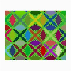 Abstract Pattern Background Design Small Glasses Cloth (2 Side) by Nexatart