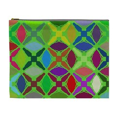 Abstract Pattern Background Design Cosmetic Bag (xl) by Nexatart