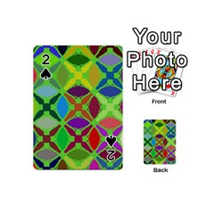 Abstract Pattern Background Design Playing Cards 54 (mini)  by Nexatart