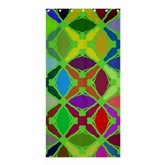Abstract Pattern Background Design Shower Curtain 36  X 72  (stall)  by Nexatart