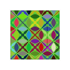 Abstract Pattern Background Design Acrylic Tangram Puzzle (4  X 4 )