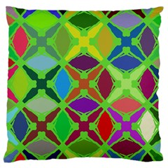 Abstract Pattern Background Design Large Cushion Case (two Sides)