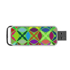 Abstract Pattern Background Design Portable Usb Flash (two Sides) by Nexatart