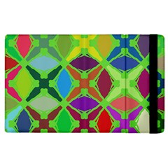 Abstract Pattern Background Design Apple Ipad 3/4 Flip Case by Nexatart