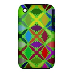 Abstract Pattern Background Design Iphone 3s/3gs by Nexatart