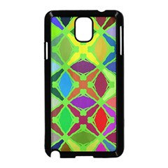 Abstract Pattern Background Design Samsung Galaxy Note 3 Neo Hardshell Case (black)