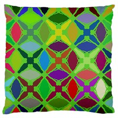 Abstract Pattern Background Design Standard Flano Cushion Case (two Sides) by Nexatart