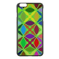 Abstract Pattern Background Design Apple Iphone 6 Plus/6s Plus Black Enamel Case by Nexatart