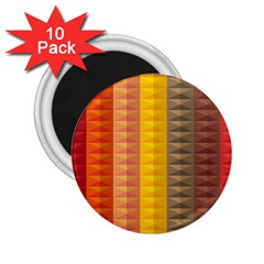 Abstract Pattern Background 2 25  Magnets (10 Pack)