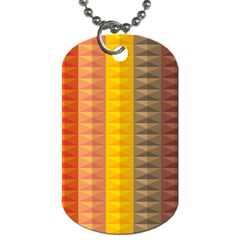 Abstract Pattern Background Dog Tag (two Sides) by Nexatart
