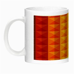 Abstract Pattern Background Night Luminous Mugs