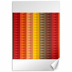 Abstract Pattern Background Canvas 12  X 18