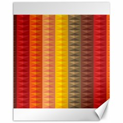 Abstract Pattern Background Canvas 11  X 14
