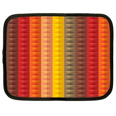 Abstract Pattern Background Netbook Case (large)
