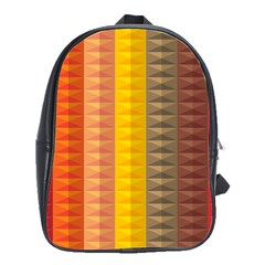 Abstract Pattern Background School Bags(large)  by Nexatart