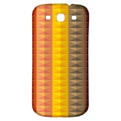 Abstract Pattern Background Samsung Galaxy S3 S Iii Classic Hardshell Back Case by Nexatart