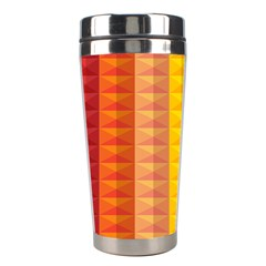 Abstract Pattern Background Stainless Steel Travel Tumblers by Nexatart
