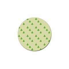 Christmas Wrapping Paper Pattern Golf Ball Marker