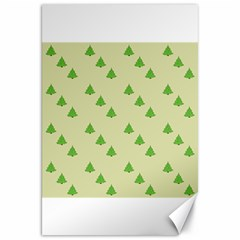 Christmas Wrapping Paper Pattern Canvas 20  X 30   by Nexatart