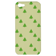 Christmas Wrapping Paper Pattern Apple Iphone 5 Hardshell Case