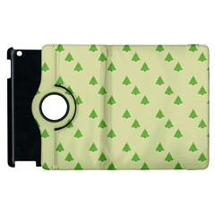 Christmas Wrapping Paper Pattern Apple Ipad 2 Flip 360 Case by Nexatart