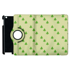 Christmas Wrapping Paper Pattern Apple Ipad 3/4 Flip 360 Case by Nexatart