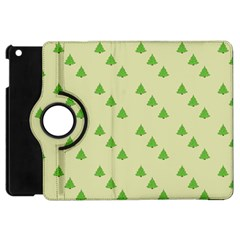 Christmas Wrapping Paper Pattern Apple Ipad Mini Flip 360 Case