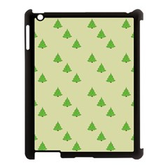 Christmas Wrapping Paper Pattern Apple Ipad 3/4 Case (black)