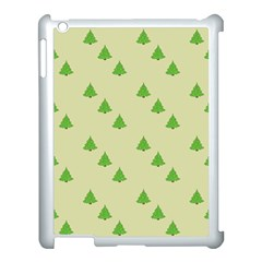 Christmas Wrapping Paper Pattern Apple Ipad 3/4 Case (white) by Nexatart