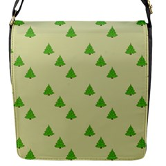 Christmas Wrapping Paper Pattern Flap Messenger Bag (s) by Nexatart
