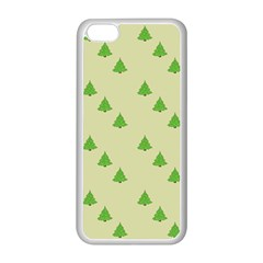 Christmas Wrapping Paper Pattern Apple Iphone 5c Seamless Case (white)