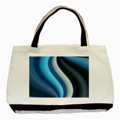 Abstract Pattern Lines Wave Basic Tote Bag by Nexatart