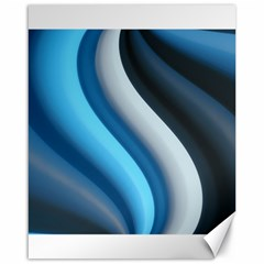 Abstract Pattern Lines Wave Canvas 16  X 20