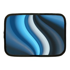 Abstract Pattern Lines Wave Netbook Case (medium)  by Nexatart