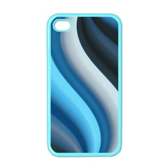 Abstract Pattern Lines Wave Apple Iphone 4 Case (color) by Nexatart