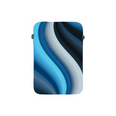 Abstract Pattern Lines Wave Apple Ipad Mini Protective Soft Cases by Nexatart