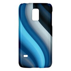 Abstract Pattern Lines Wave Galaxy S5 Mini by Nexatart