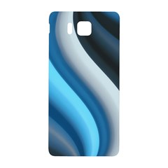 Abstract Pattern Lines Wave Samsung Galaxy Alpha Hardshell Back Case by Nexatart