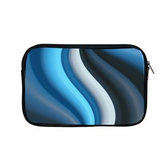Abstract Pattern Lines Wave Apple Macbook Pro 13  Zipper Case by Nexatart