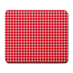 Pattern Diamonds Box Red Large Mousepads