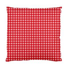 Pattern Diamonds Box Red Standard Cushion Case (one Side)