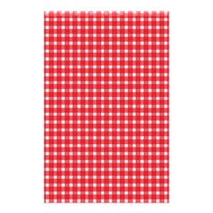 Pattern Diamonds Box Red Shower Curtain 48  X 72  (small)  by Nexatart