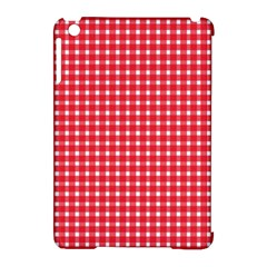 Pattern Diamonds Box Red Apple Ipad Mini Hardshell Case (compatible With Smart Cover) by Nexatart