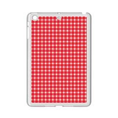 Pattern Diamonds Box Red Ipad Mini 2 Enamel Coated Cases by Nexatart