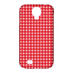 Pattern Diamonds Box Red Samsung Galaxy S4 Classic Hardshell Case (pc+silicone)