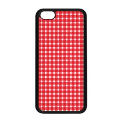 Pattern Diamonds Box Red Apple Iphone 5c Seamless Case (black) by Nexatart